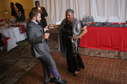 Founder & Guest testing the Dance Floor