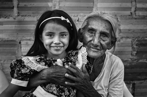 Ruth y su abuelita