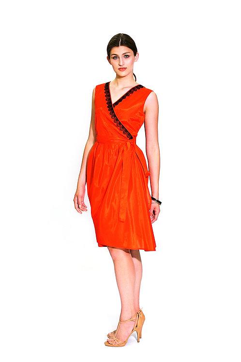 "Платье. Модель ""Volant"". Коллекция ""Geometry"""