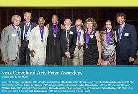 2015 Cleveland Arts Prize Awardees