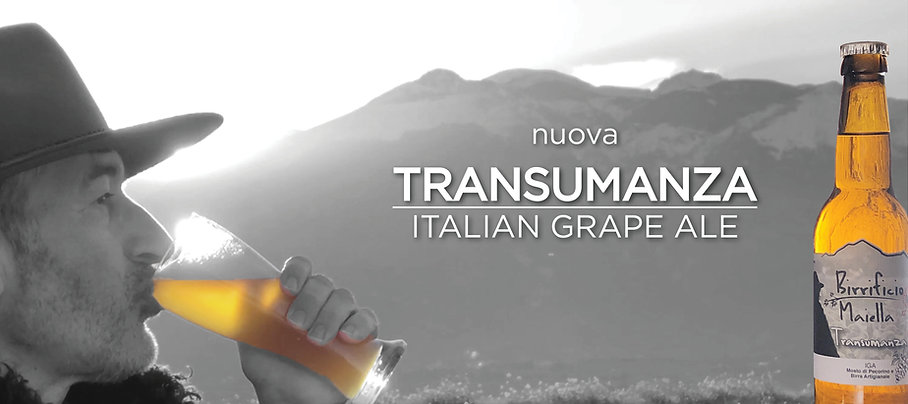 TRANSUMANZA_italian grape ale_birrificio