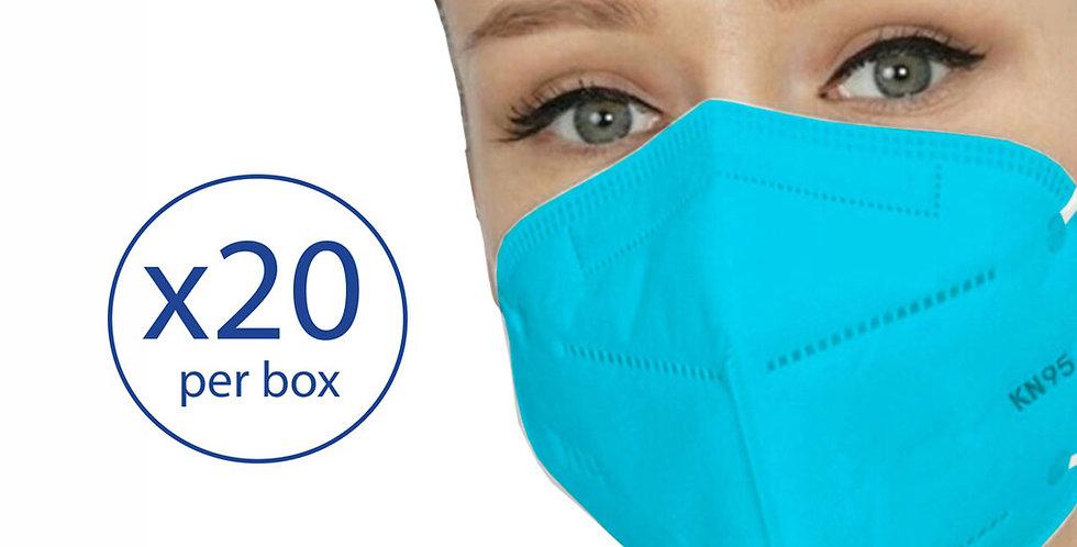 KN95  - 4 layer - 20 masks/box