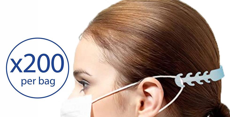 Face Mask Ear Saver Extender - 200 straps/bag