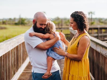 Milestone Photos | 2nd Birthday Photo Session | Jacksonville FL Family Photographer