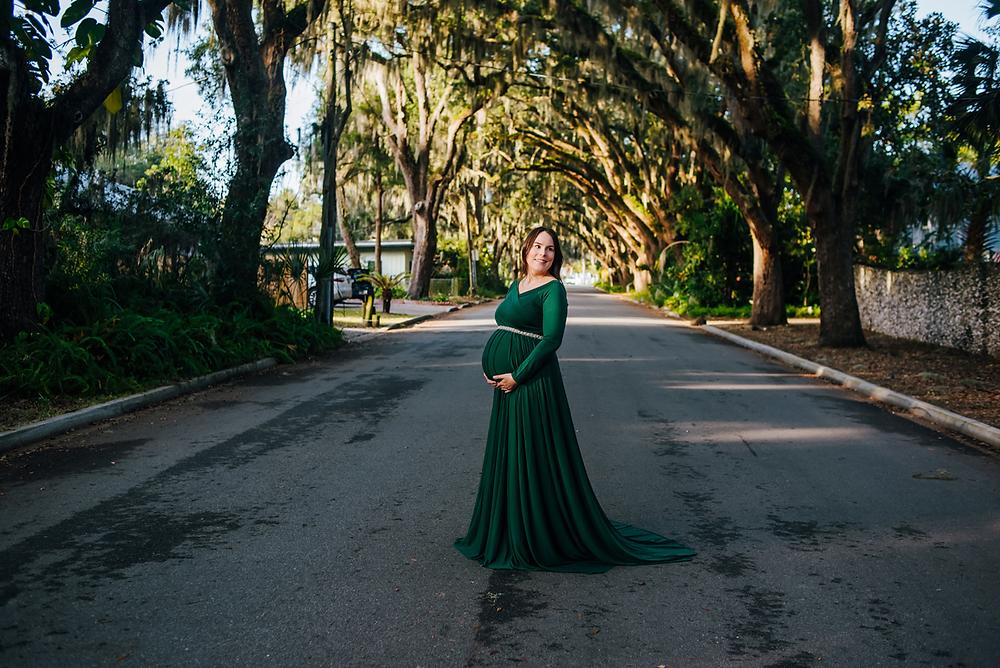 st augustine fl maternity portrait photographer