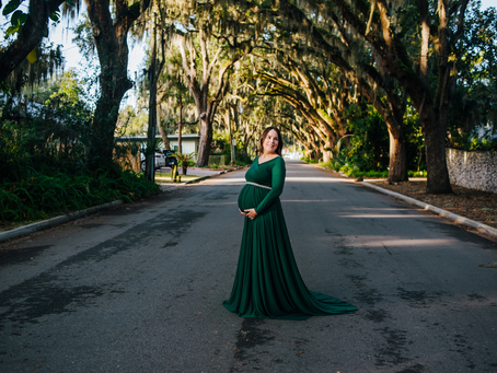Maternity Portraits in St Augustine, FL
