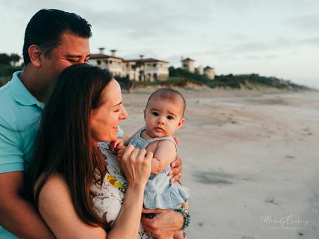 Jacksonville Family Photographer | Sunrise Beach Photography | Milestone Portraits