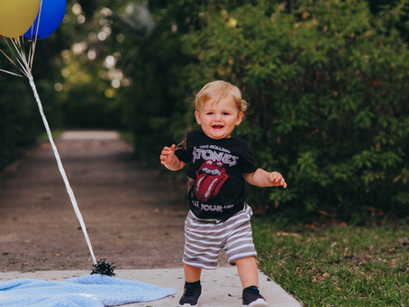 First Birthday Portraits | Jacksonville FL Family Photographer | Look Who's One