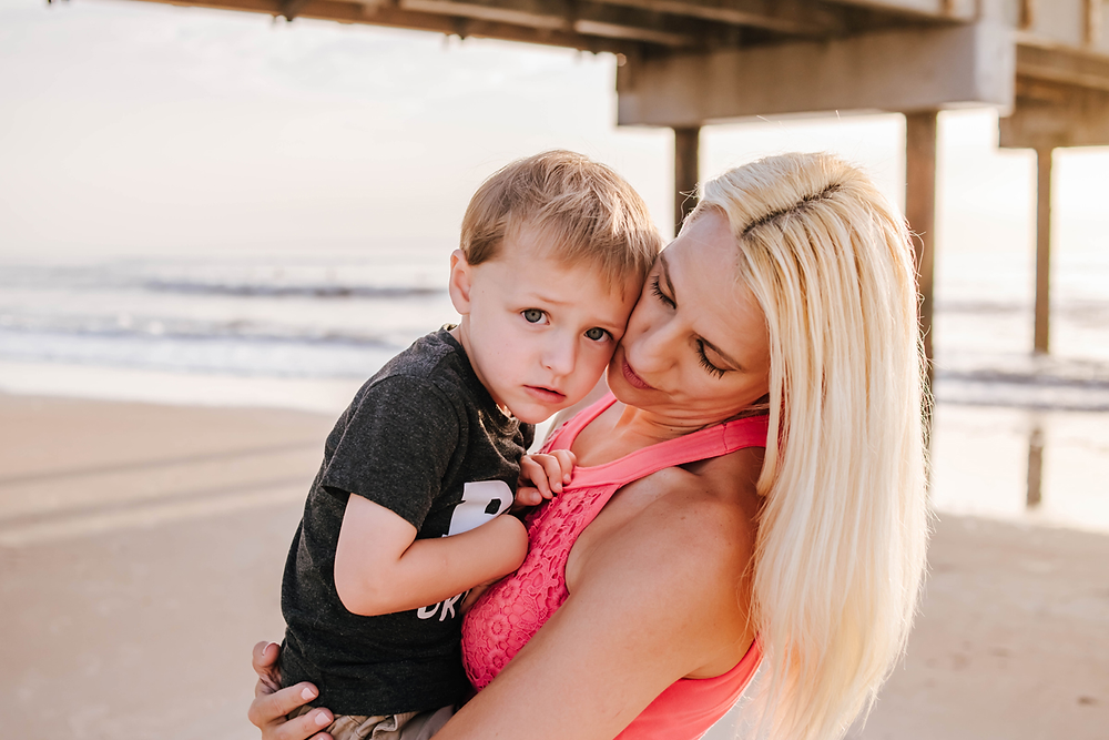 family photographer st augustine beach