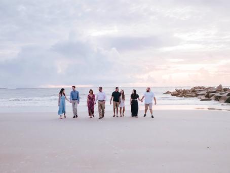 Beach Family Photography in Vilano Beach, FL