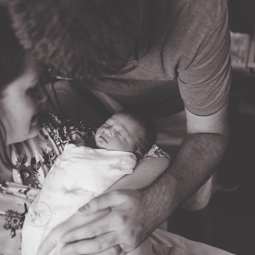 jacksonville fl hospital newborn portraits