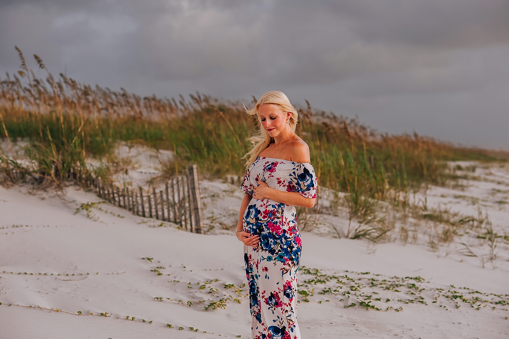 maternity photographers in crescent beach fl