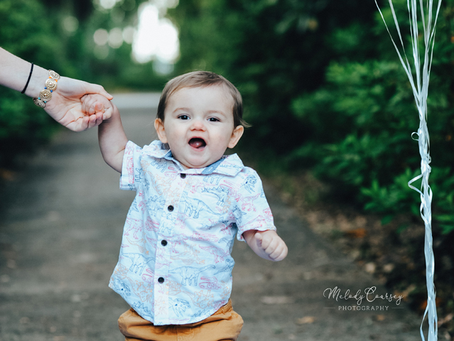 Jacksonville Family Photography | First Birthday Portraits | Look Who's One