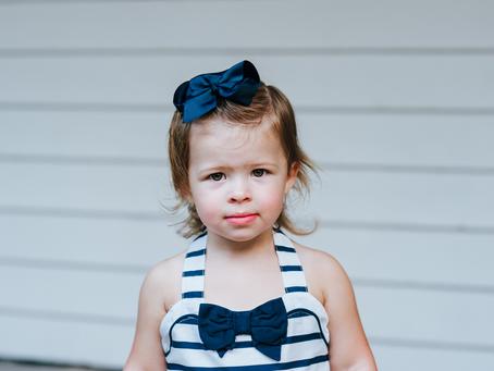 Timeless Portraits | 2nd Birthday Photos | Jacksonville Fl Family Photographers