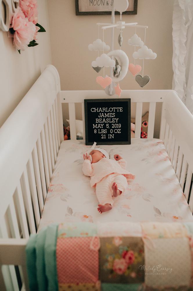 in home newborn photographer