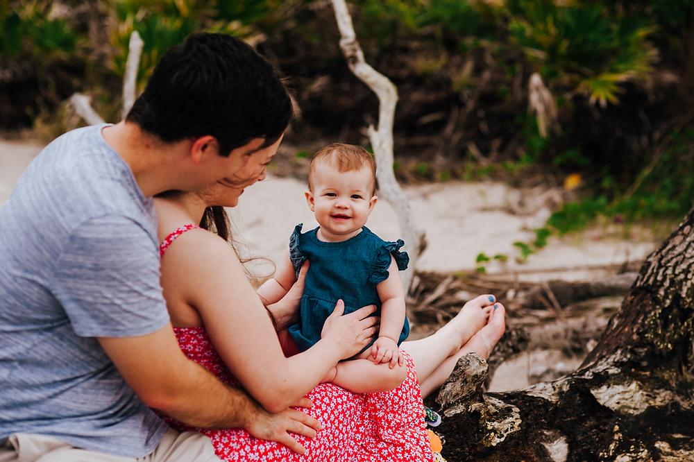 beach family photographers in jacksonville fl