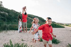 beach family portraits st augustine fl