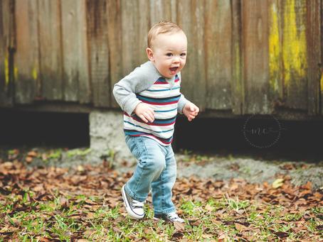 Jacksonville Family Photographer | First Birthday Portraits | Parker is One | Jacksonville FL Photog