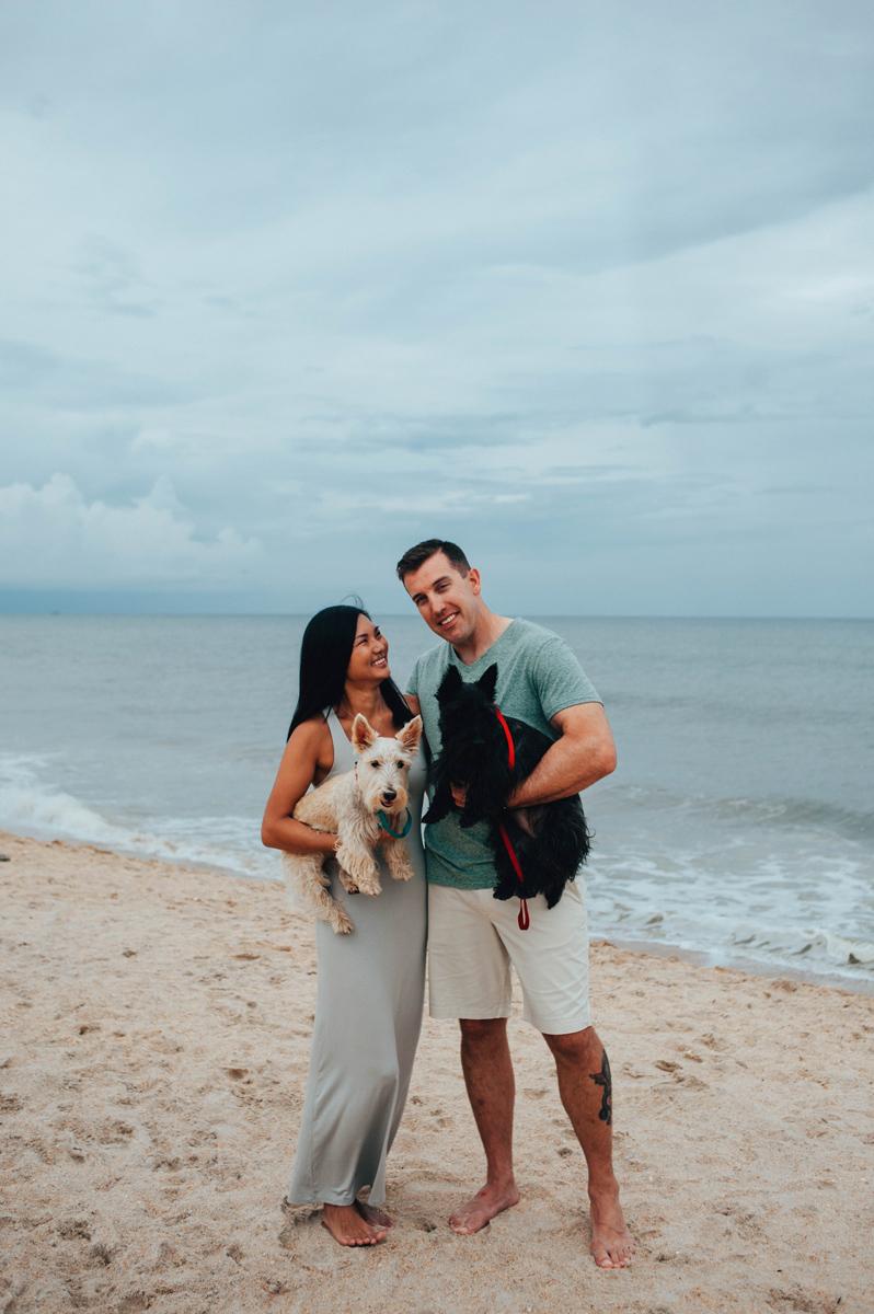 st augustine beach family portraits