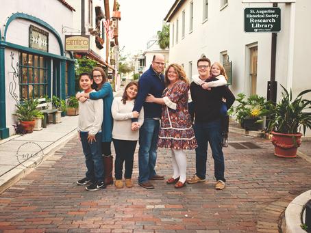 Looking Back | Remembering 2017 | Favorite Family Portraits of 2017 | Jacksonville FL Family Photogr