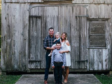 Fall Family Portraits | Jacksonville FL Family Photographer