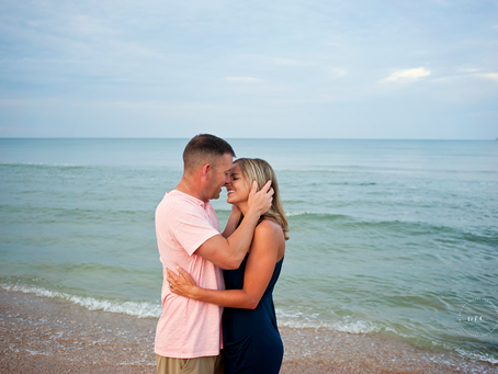Beach Photography Session | Love | Beach Anniversary Portrait Session | Jacksonville FL Photographer