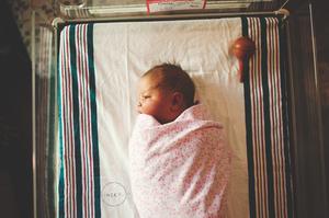 jacksonville fl in hospital newborn photographer