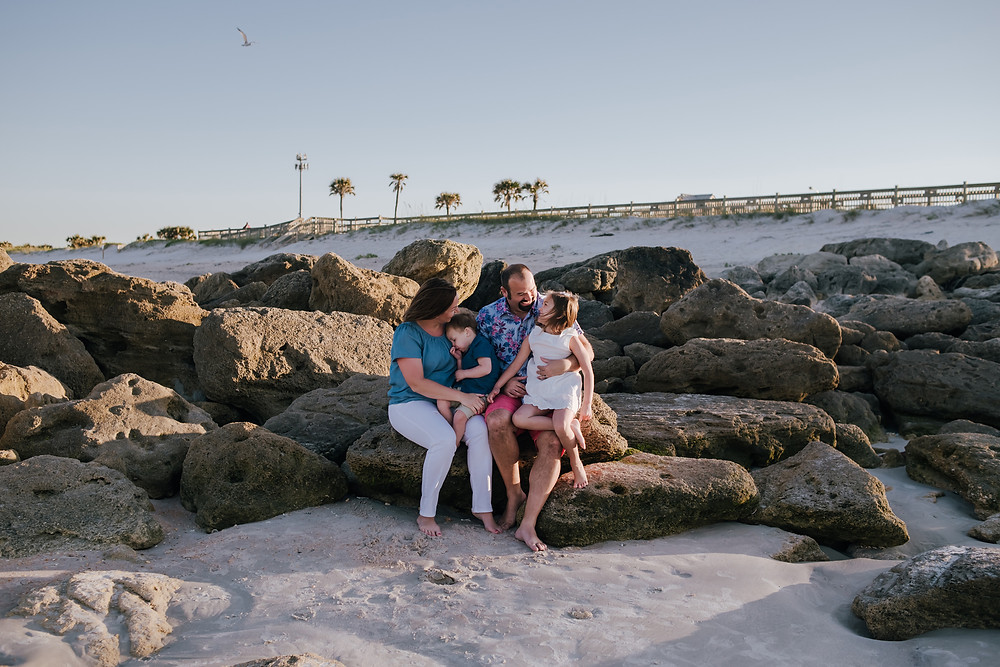 family photography st augustine beach fl