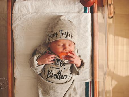 Jacksonville FL Newborn Photographer | Fresh 48 In Hospital Newborn Session | Welcome Little One | F