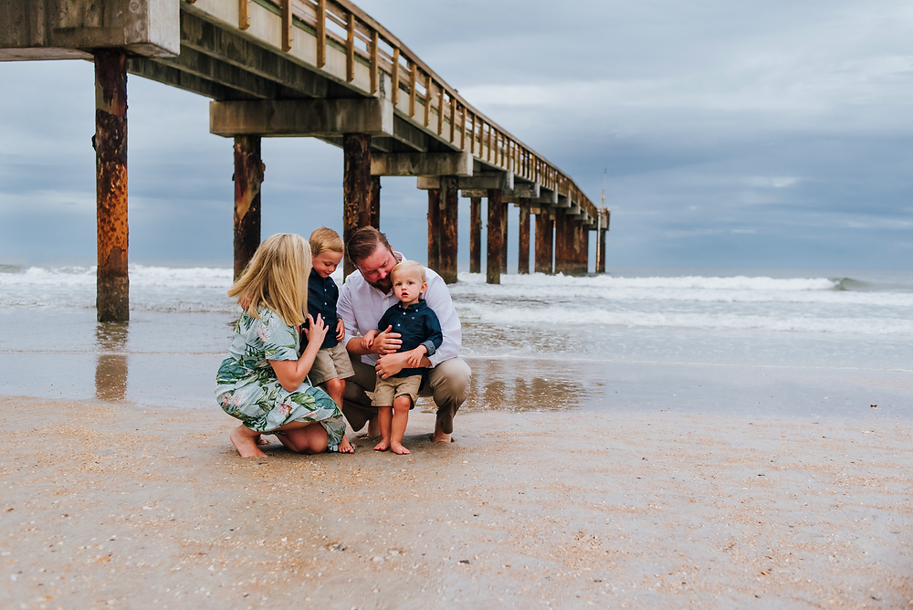 family photographer in st augustine beach fl