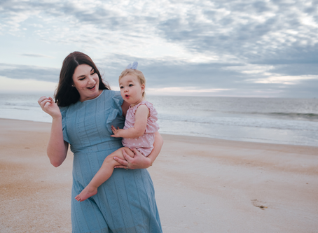 Summer | Beach Family Portraits | Jacksonville FL Family Photographer