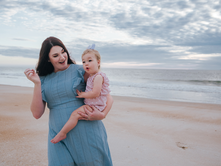 Summer | Beach Family Portraits | Jacksonville FL Family Photographer