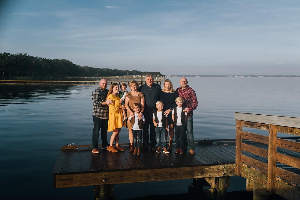 fall family portraits in jacksonville fl
