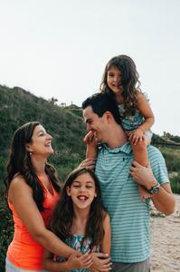 beach family portraits