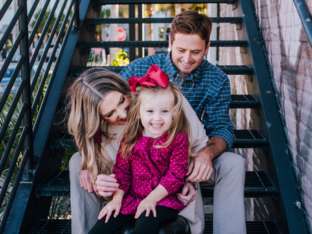 Downtown Atlantic Beach Family Photos | Jacksonville FL Family Photographer