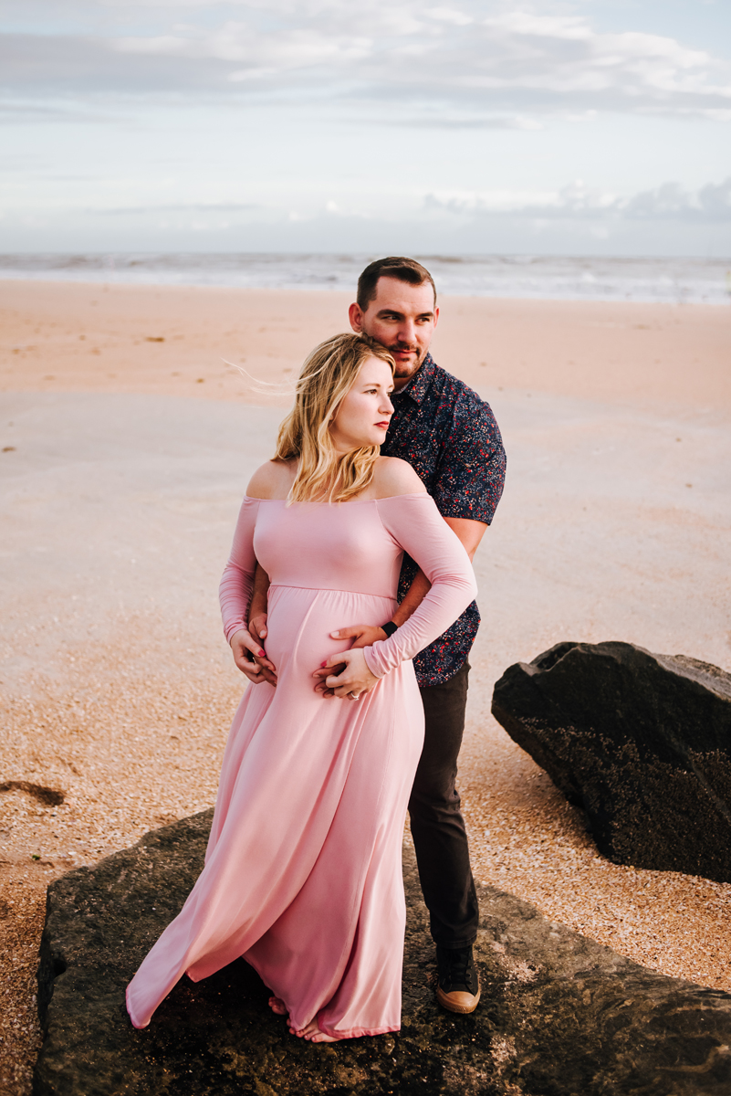maternity portraits in st augustine fl