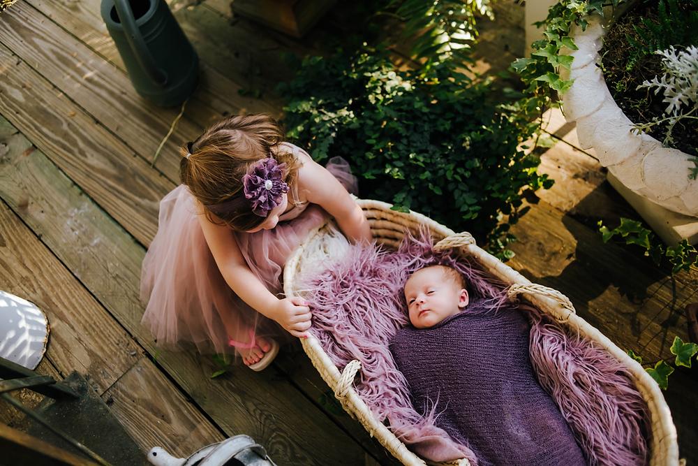 newborn photographer in st augustine fl