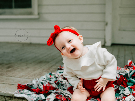 Christmas Cutie | Family Photography | Jacksonville Family Photographer