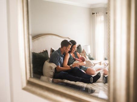 Welcome Little One | Lifestyle Newborn Photography | Jacksonville FL Newborn Photographer