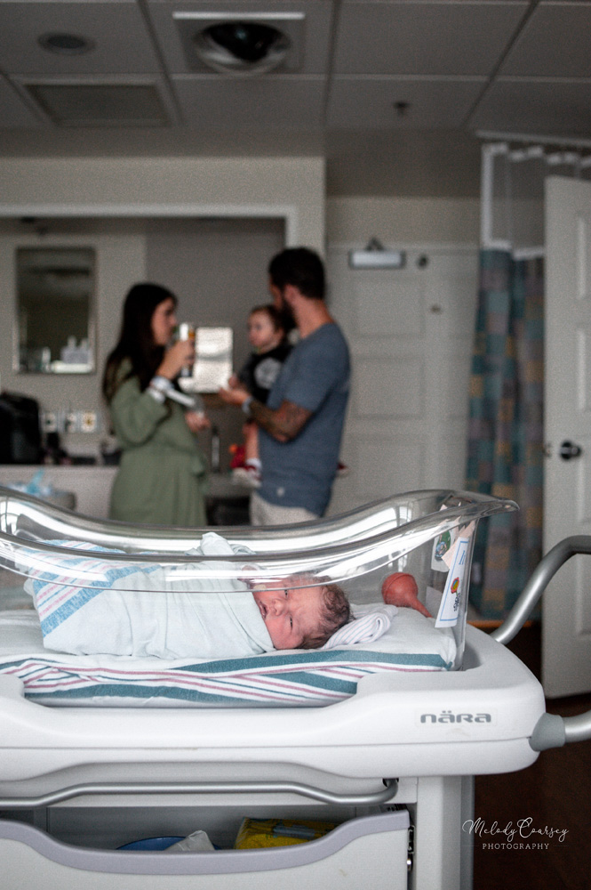jacksonville in hospital newborn photographer