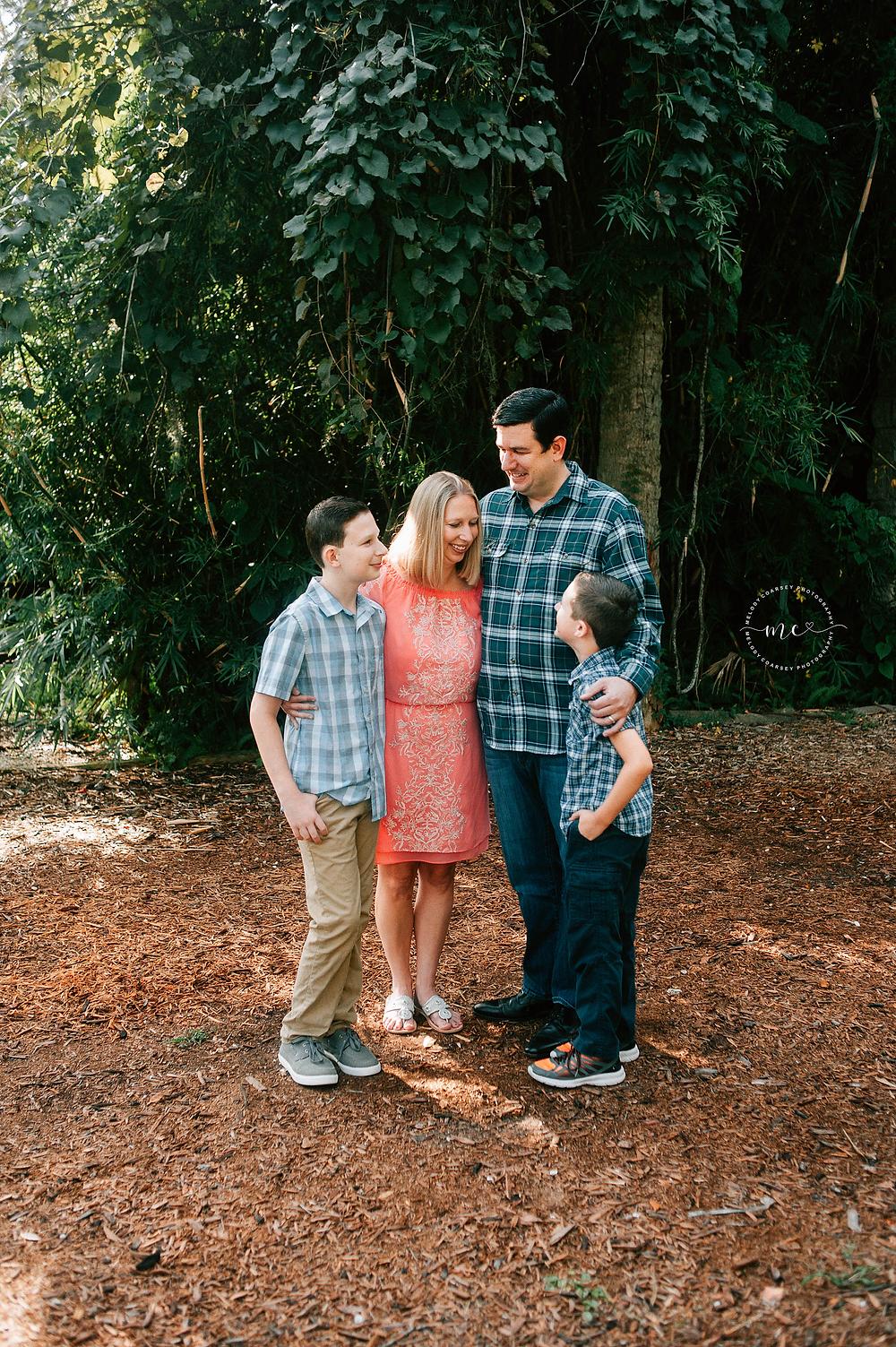 St Augustine FL Family Portrait Photographer