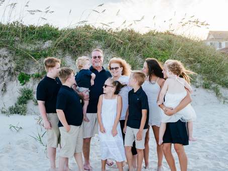 Beach Family Photography in St Augustine Beach Florida