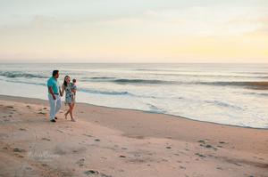 jacksonville sunrise beach family portraits