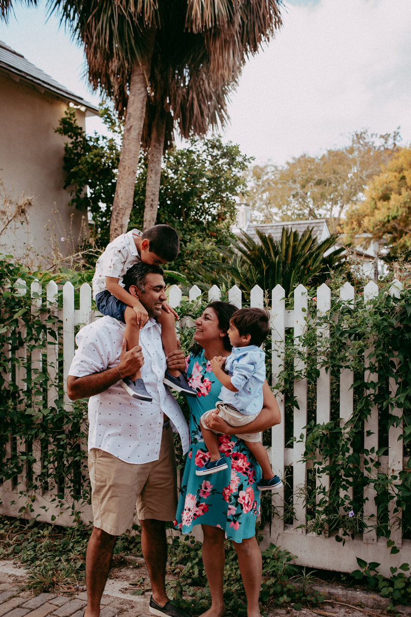 family photoshoot in st augustine fl