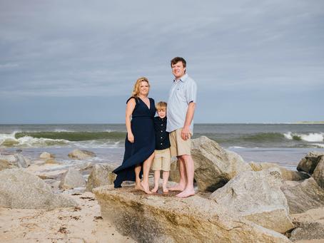 Beach Family Photographer St Augustine