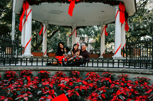 family christmas photos st augustine
