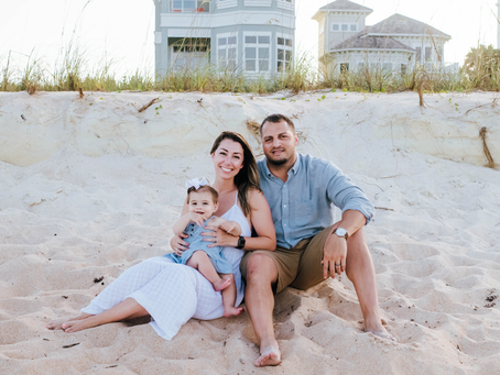 St Augustine Beach Family Photography
