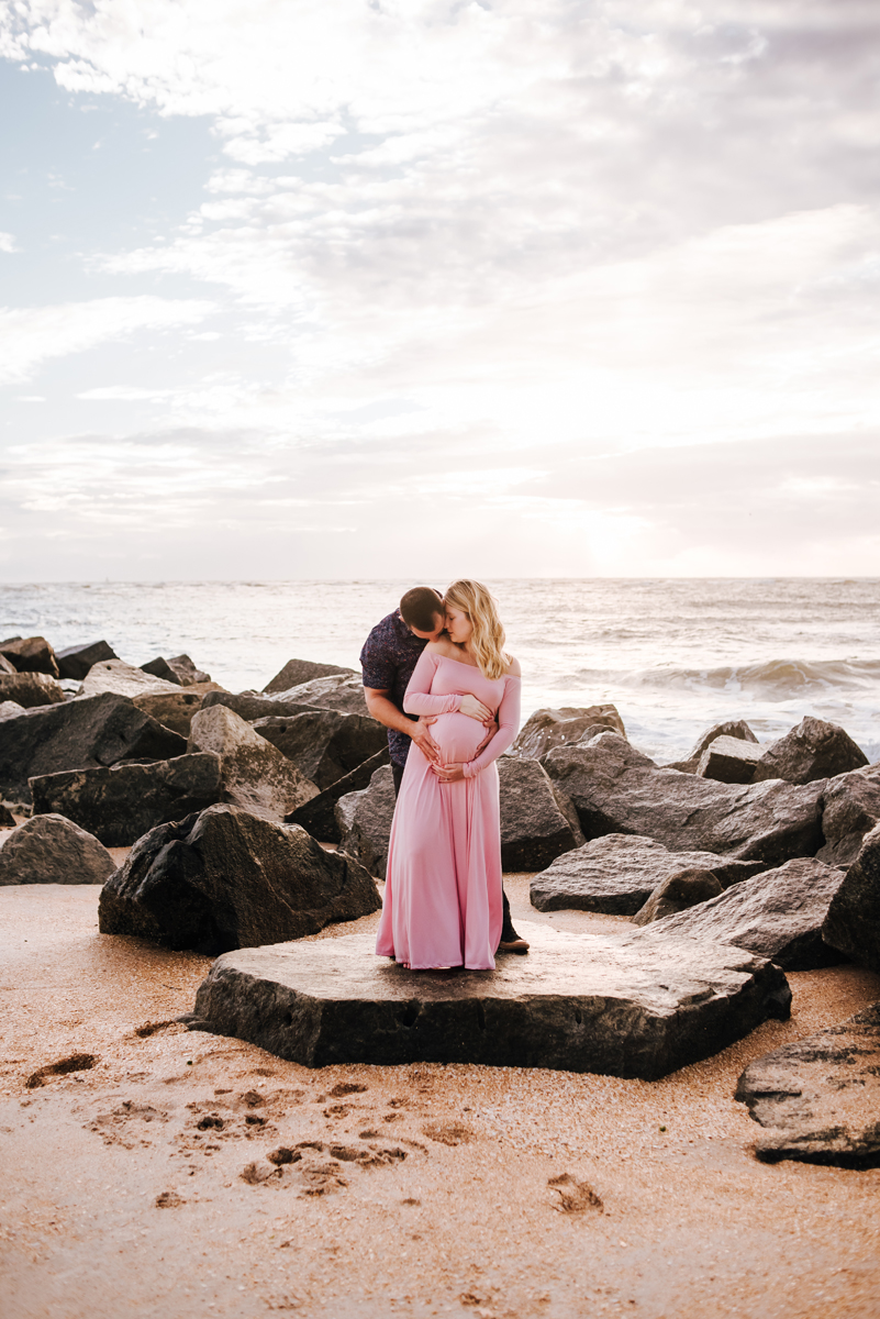 maternity photographer in vilano beach fl
