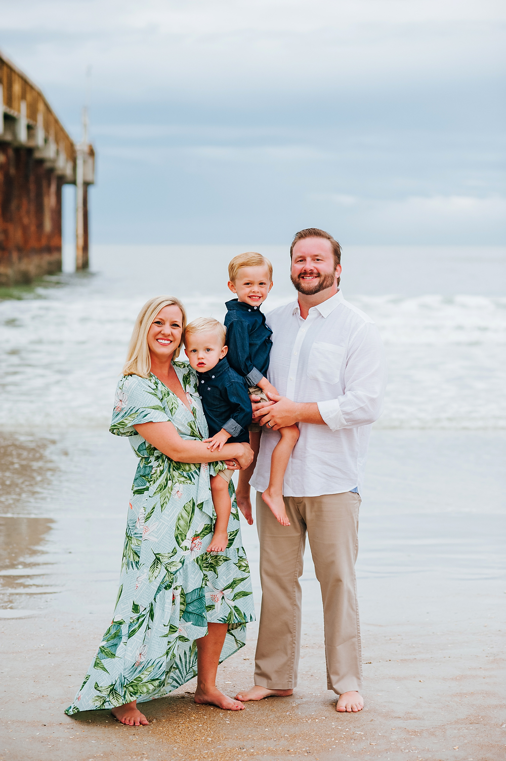 st augustine beach fl family photography