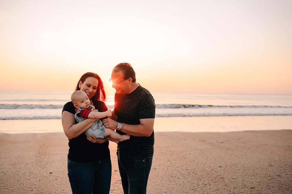family photoshoot in ponte vedra beach fl